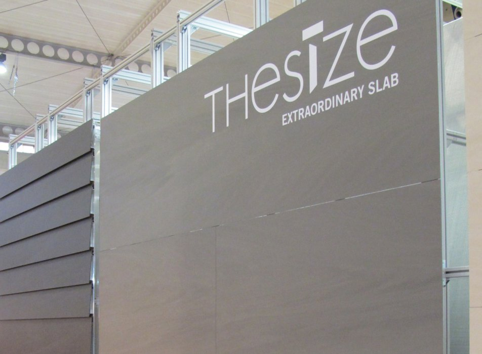 Stand 'The Size' - Construmat 2011
